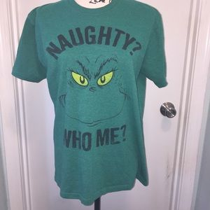 bc4c668540b The Grinch Dr. Seuss Mens Graphic Tee Size Medium